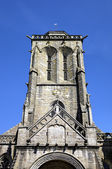Cathedral of Locronan. France — Stock Photo