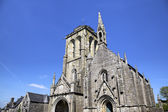 Cathedral of Locronan. France — Stock fotografie