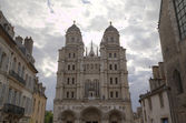 The church Notre Dame in Dijon, France — Stock Photo