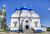 Cathedral of Holy Bogolyubovo Monastery. Vladimir region, Golden Ring of Russia — Stock Photo