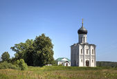 Church of the Intercession on the Nerl. Bogolyubovo, Vladimir region, Golden Ring of Russia — Stock Photo