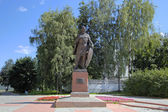 Monument to Alexander Nevsky. Vladimir, Golden ring of Russia. — 图库照片