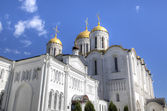 Catedral da assunção. vladimir, anel de ouro da rússia. — Foto Stock