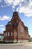 Igreja da trindade (troitskaya). vladimir, anel de ouro da rússia. — Foto Stock