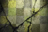 Sfondo grunge di cracking piastrelle cemento — Foto Stock