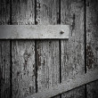 Dark wooden door background — Stock Photo