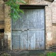 Old door entrance — Stock Photo