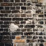 Dark brick wall — Stock Photo