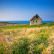 Stock Photo: Cottage by sea