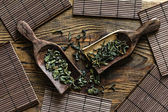 绿茶 绿茶 — 图库照片