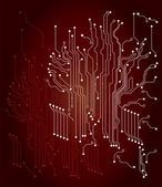 Circuit Board — Stock Vector