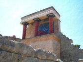 Ancient Crete Temple — Stock Photo