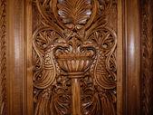 Wooden Sculpture Art — Stock Photo