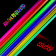 Abstract Background Rainbow Colors — 图库照片