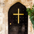 Metal Monastery Door — Stock Photo