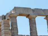 Temple of Poseidon - Neptune in Sounio Greece — Stock Photo