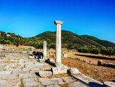 Ancient Messini Ruins, Messinia, Greece — Stock fotografie