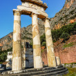 Athena Pronoia Temple at Delphi in Greece — Stock Photo