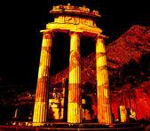 Athena Pronoia Temple at Delphi in Greece — Stock Photo