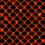 Burning Chain Link — Stock Photo