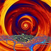 Vortex of Colors — Stock Photo