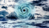 God Eye at the Sea — Stock Photo