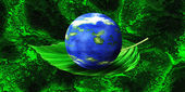 Green Planet - Ecology — Stock Photo