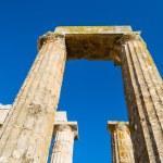 Pillars of ancient Zeus temple — Stock Photo #42748457