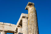 Säulen des antiken zeus-tempel — Stockfoto