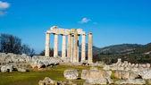 Ancient Temple of Zeus in the Nemea — Stock Photo