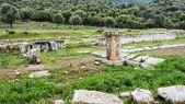 希腊古代 troizina 废墟 — 图库照片