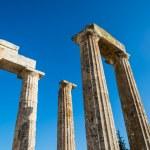 Pillars of ancient Zeus temple — Stock Photo #43799301