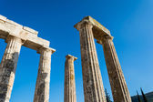 Pillars of ancient Zeus temple — Stock Photo