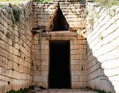 Treasury of atreus at mycenae, Greece — Stock Photo