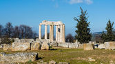 Ancient Temple of Zeus in the Nemea — Stockfoto