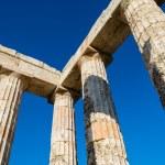 Pillars of ancient Zeus temple — Stock Photo #46235479
