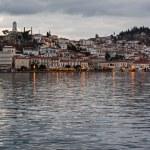 Poros Island at dusk, Greece — Stock Photo #50539881