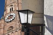 Landshut - kyrkan — Stockfoto