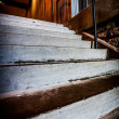 Concrete Stairs in brick stairwell — Stock Photo #25141919