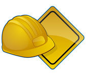 Road Construction Icon — Stock Vector