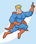 Super Hero Cartoon — Stock Vector