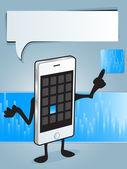 Smart Phone App — Stock Vector