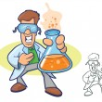 Chemist Character — Stock Vector #36115549