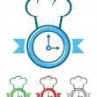Time to Cook — Stock Vector