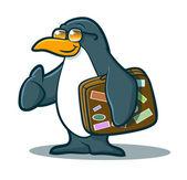 ペンギンの旅 — ストックベクタ
