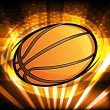 Basketball Background — Stock Vector