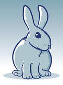 Rabbit Mascot — Stock Vector