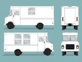 Food Truck Template — Stock Vector
