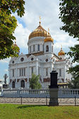 Orthodox Moscow temple — Stock Photo