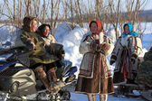 Aboriginals of the North of Siberia — Stok fotoğraf